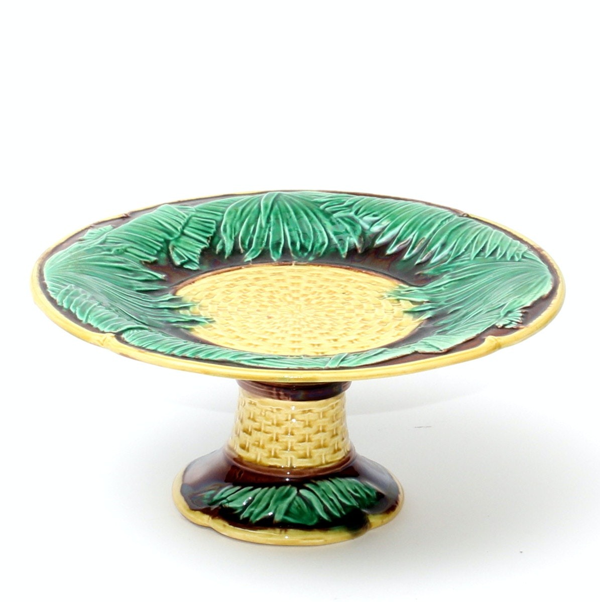 Antique Majolica Tazza