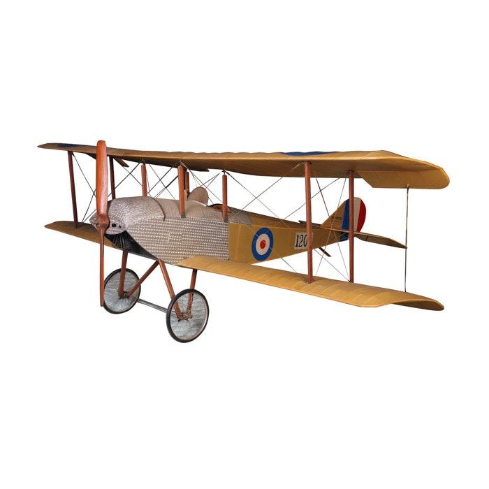 Model of a WWI Era British Sopwith Tabloid (N1205) Plane