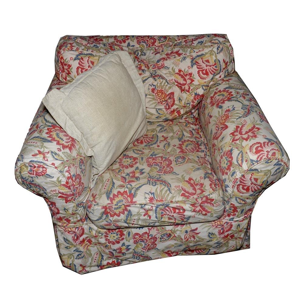 Floral Armchair by Quatrine Furniture