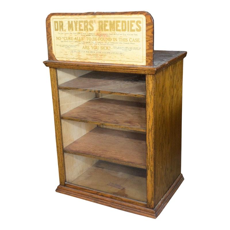 Dr. Meyers' Remedies Antique Drug Case