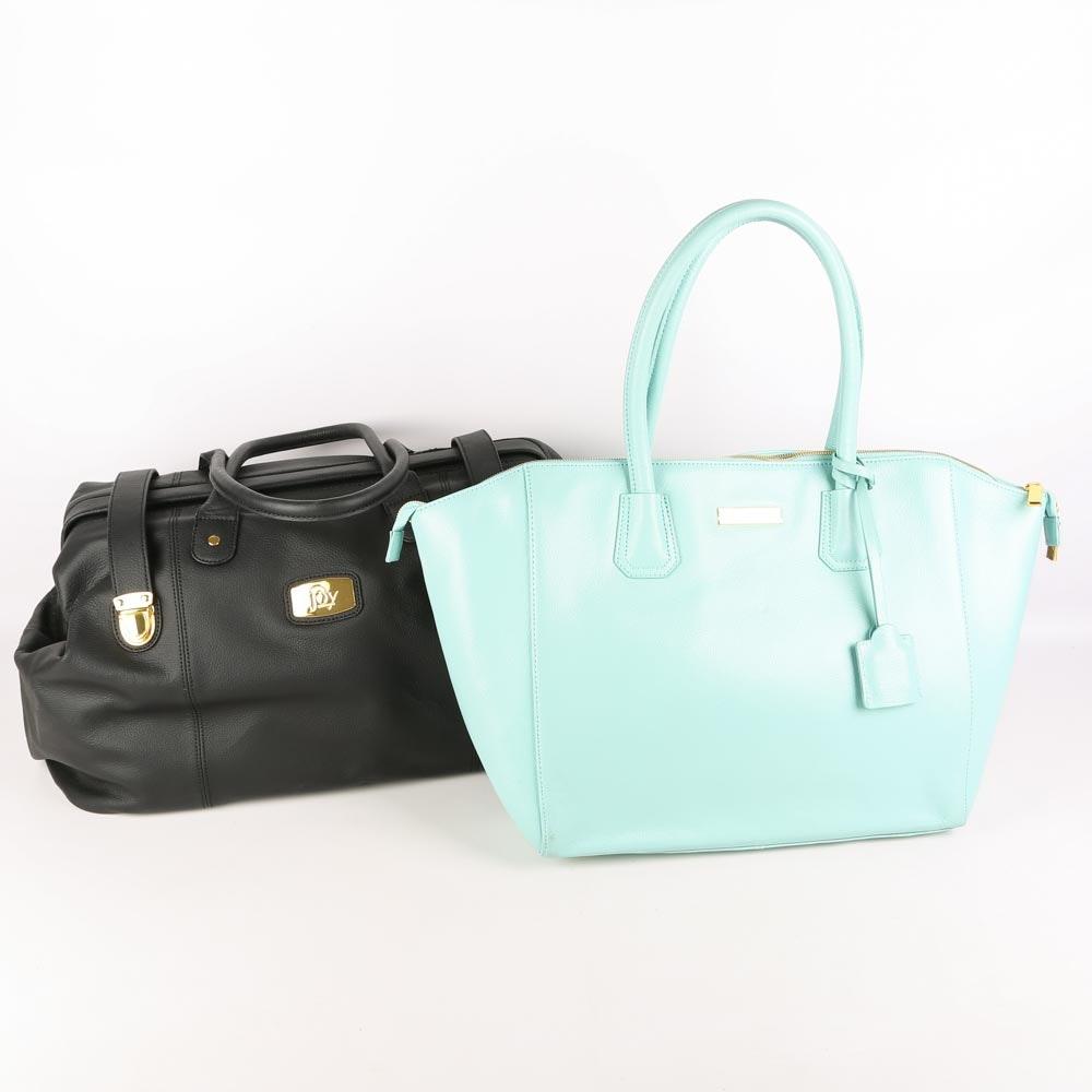 Joy and Iman City Satchel and Duffle Bag
