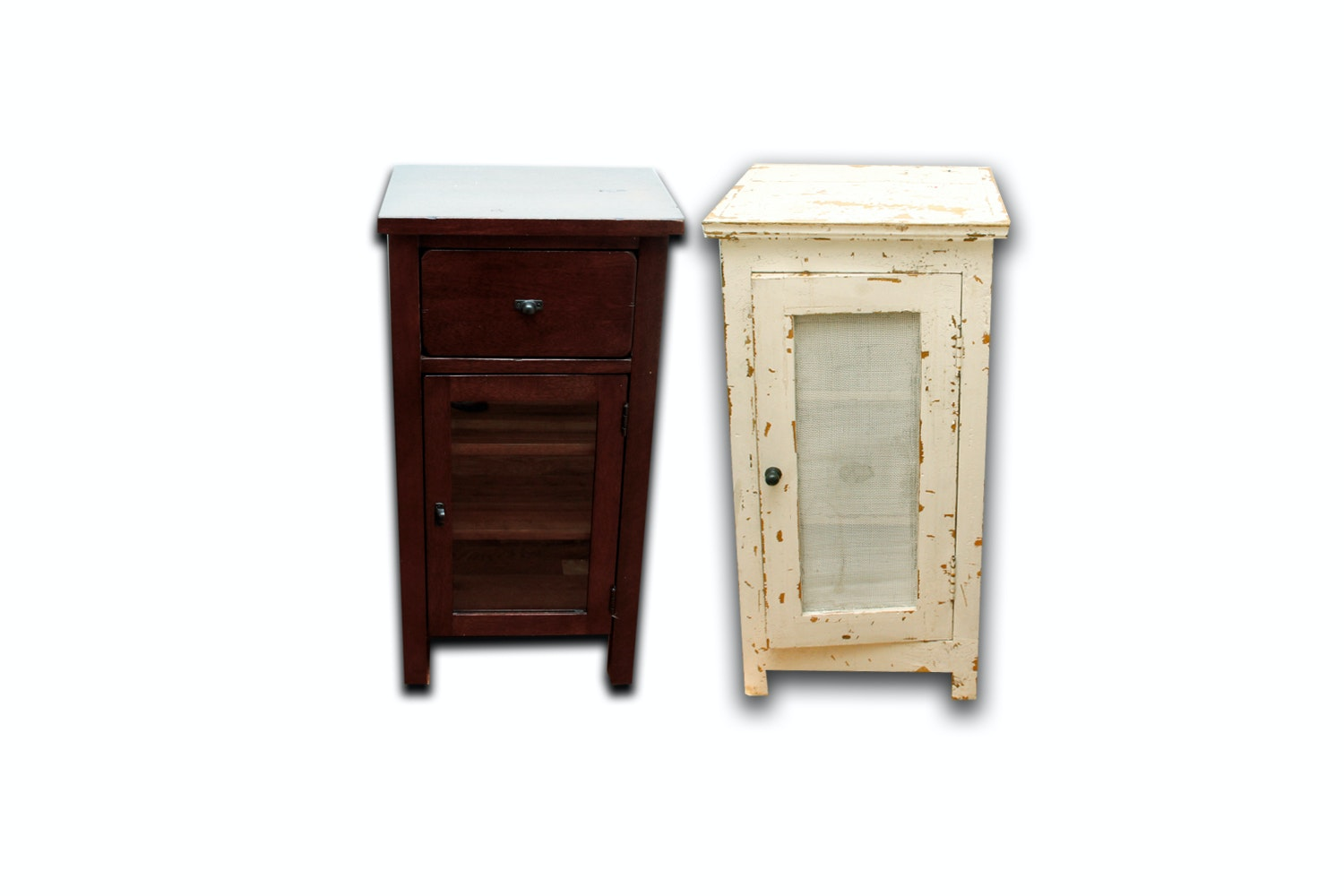 Contemporary and Vintage Nightstands