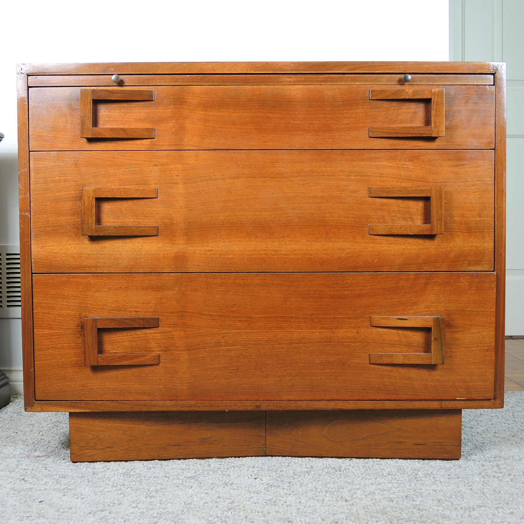 "Mid Century Modern ""Write Away"" Chest by Cavalier"
