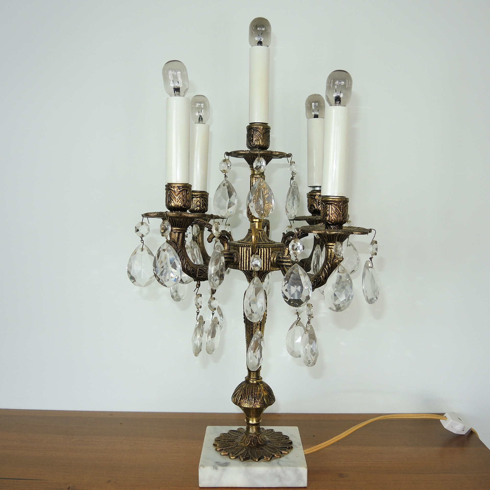 Antique Electric Table Lamp