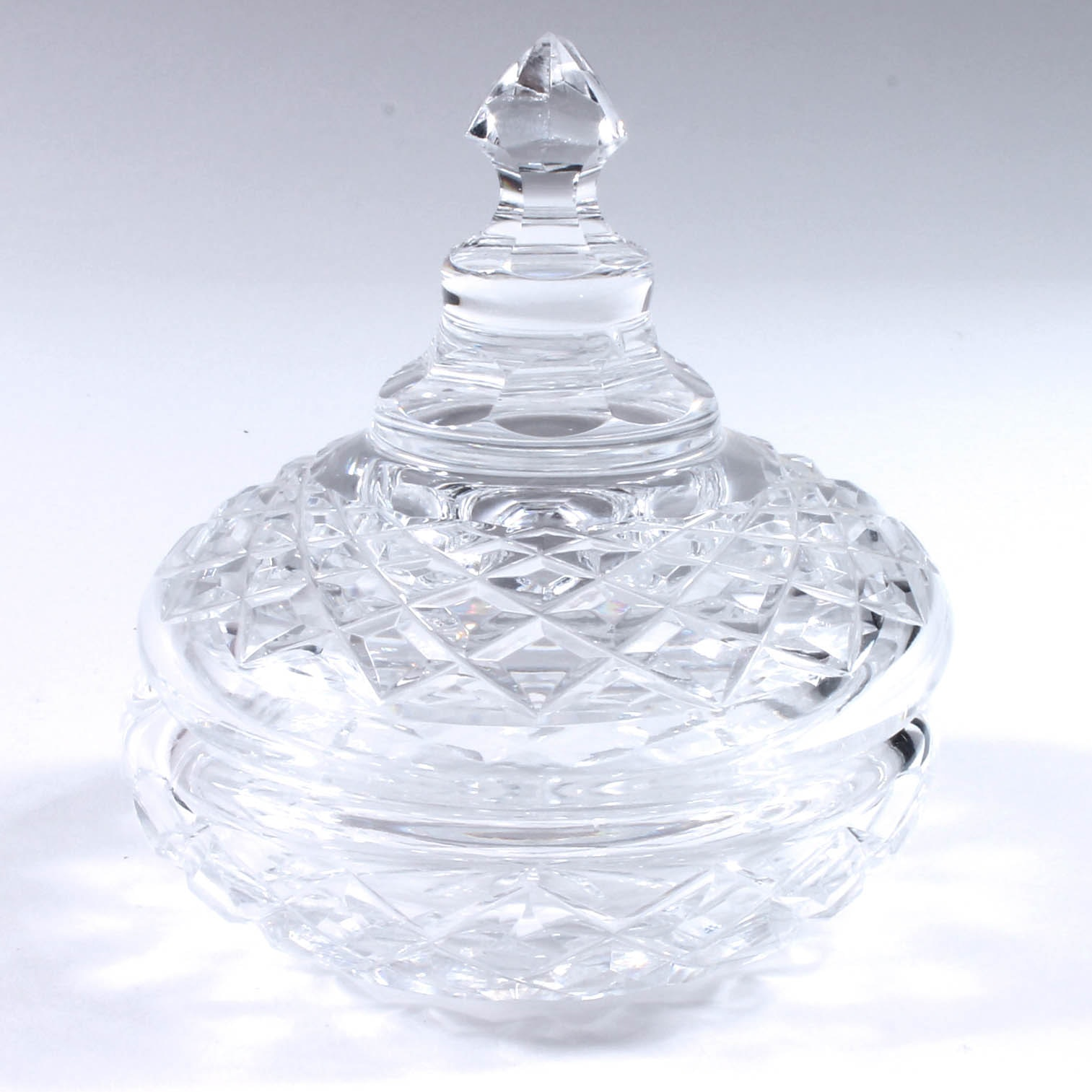 Waterford Crystal Lidded Dish