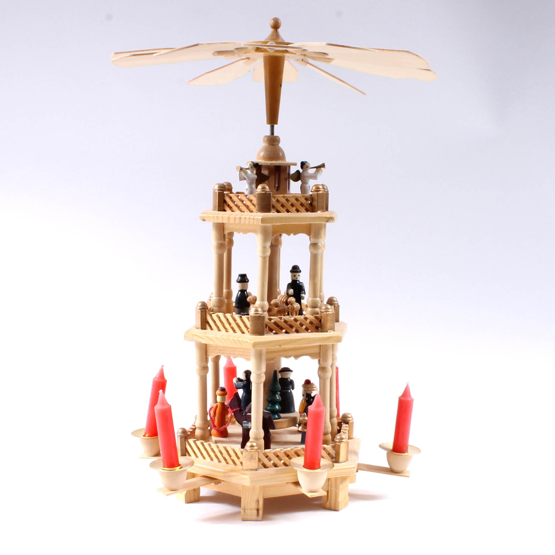 Christmas Nativity Pyramid Carousel