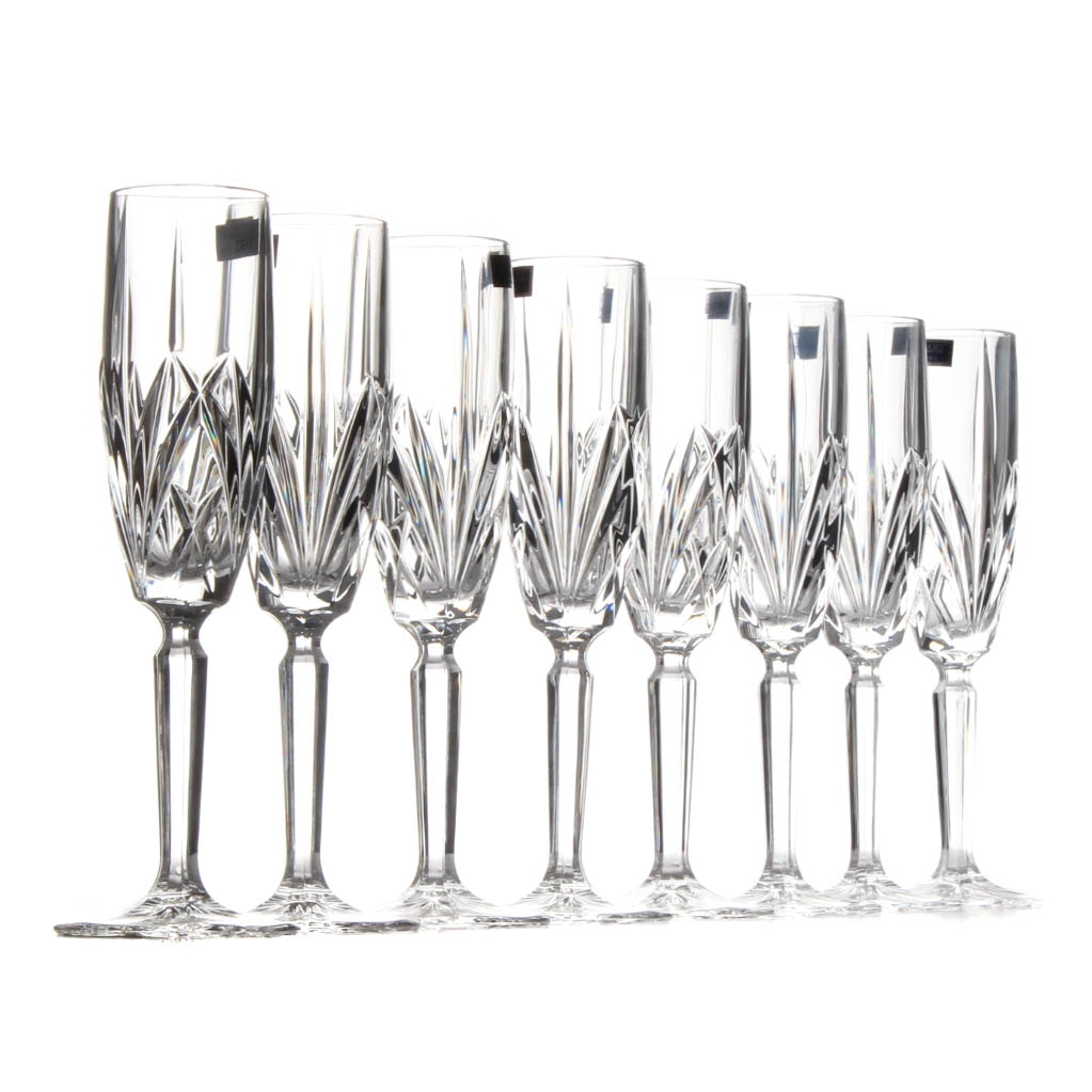 "Marquis by Waterford ""Brookside"" Champagne Flute Set"