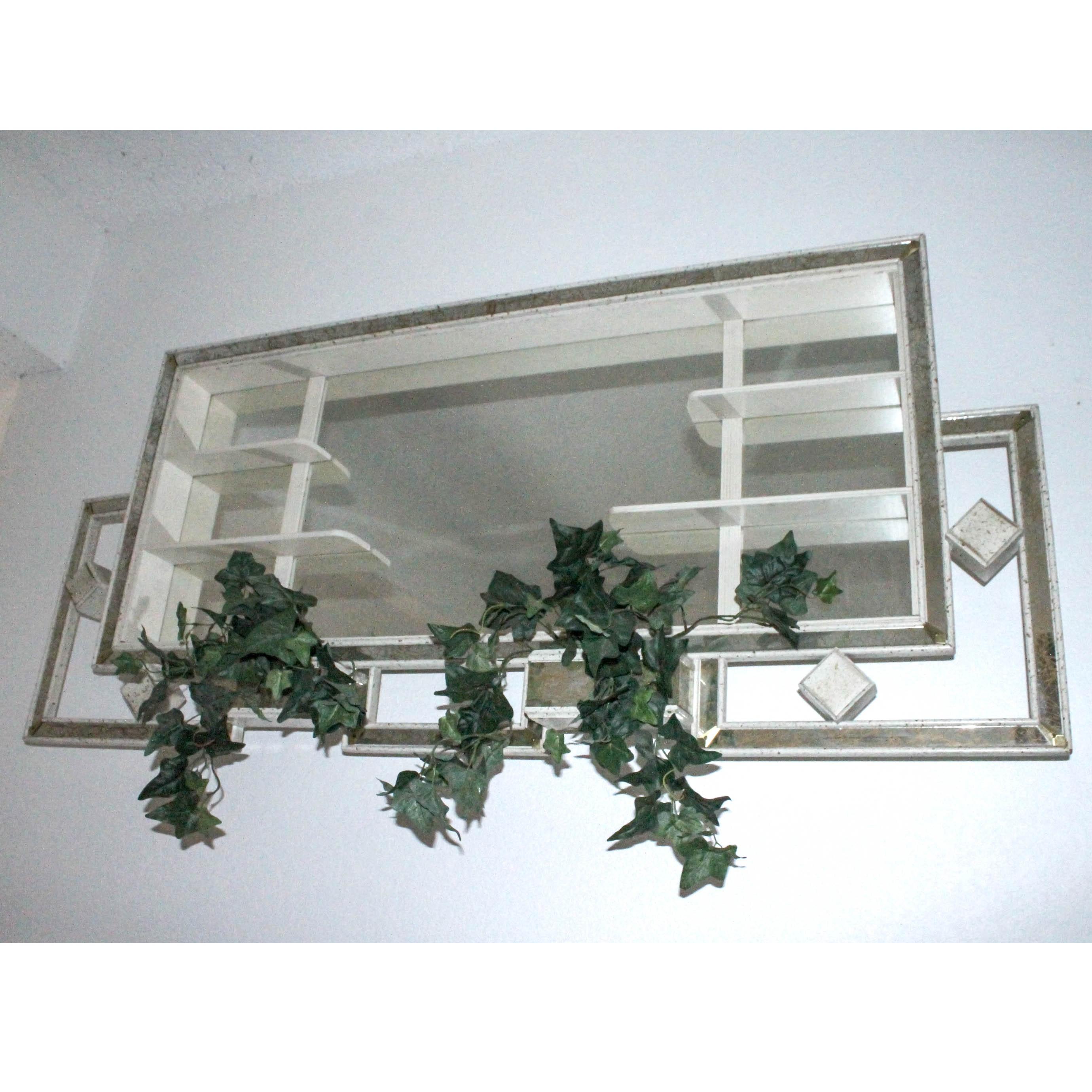 Vintage Mirrored Wall Shadowbox