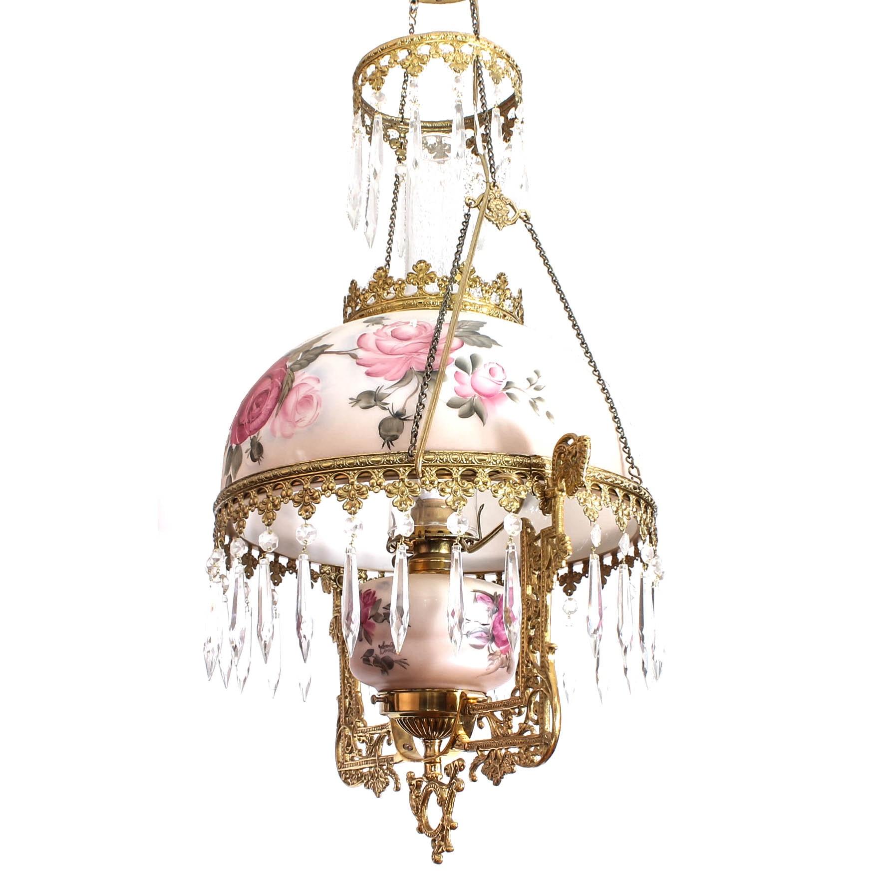 Victorian Style Lantern Ceiling Fixture