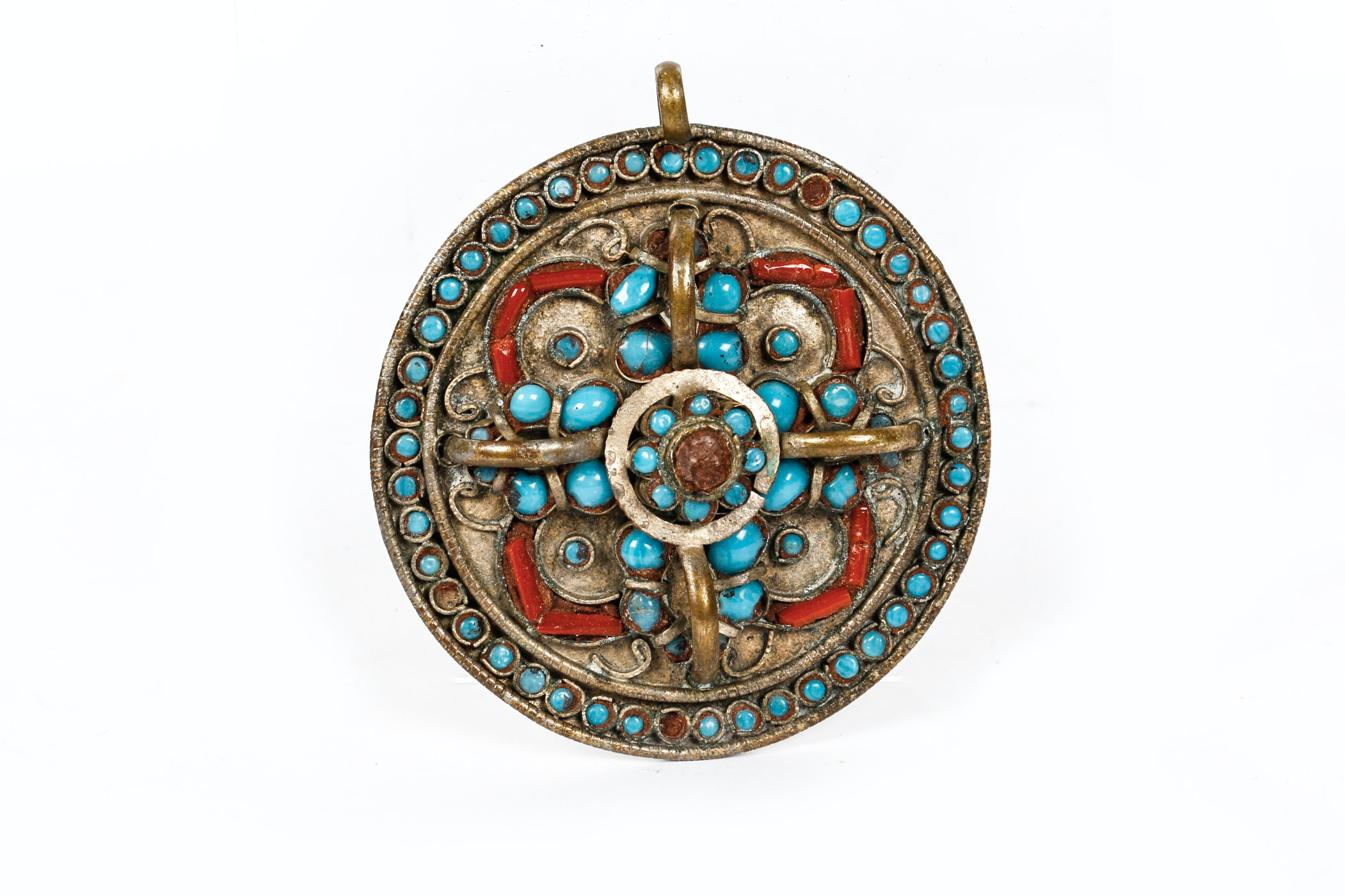 Egyptian Revival Necklace Medallion
