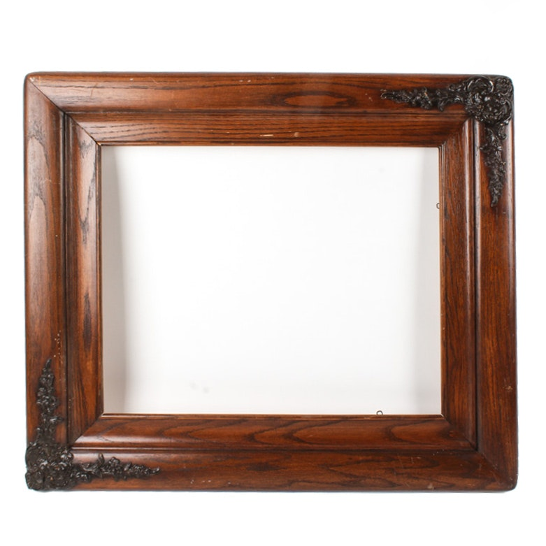 Decorative Wood Picture Frame
