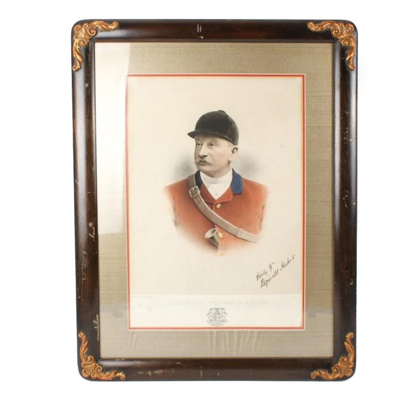 W.H. Coaten Artist's Proof Print of Mr. Reginald Herbert of Clytha