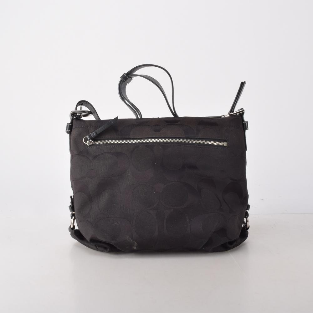 ... low cost coach signature black duffle shoulder bag a5d13 0550d c496966706651