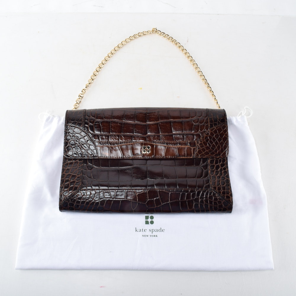 Kate Spade Embossed Leather Handbag