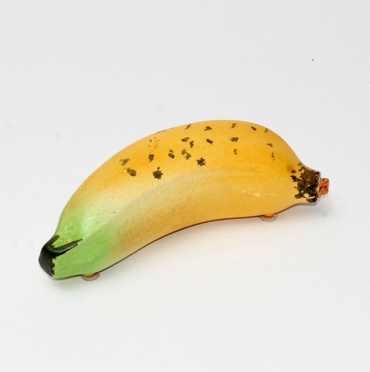 Vintage Hand-Painted Ceramic Banana