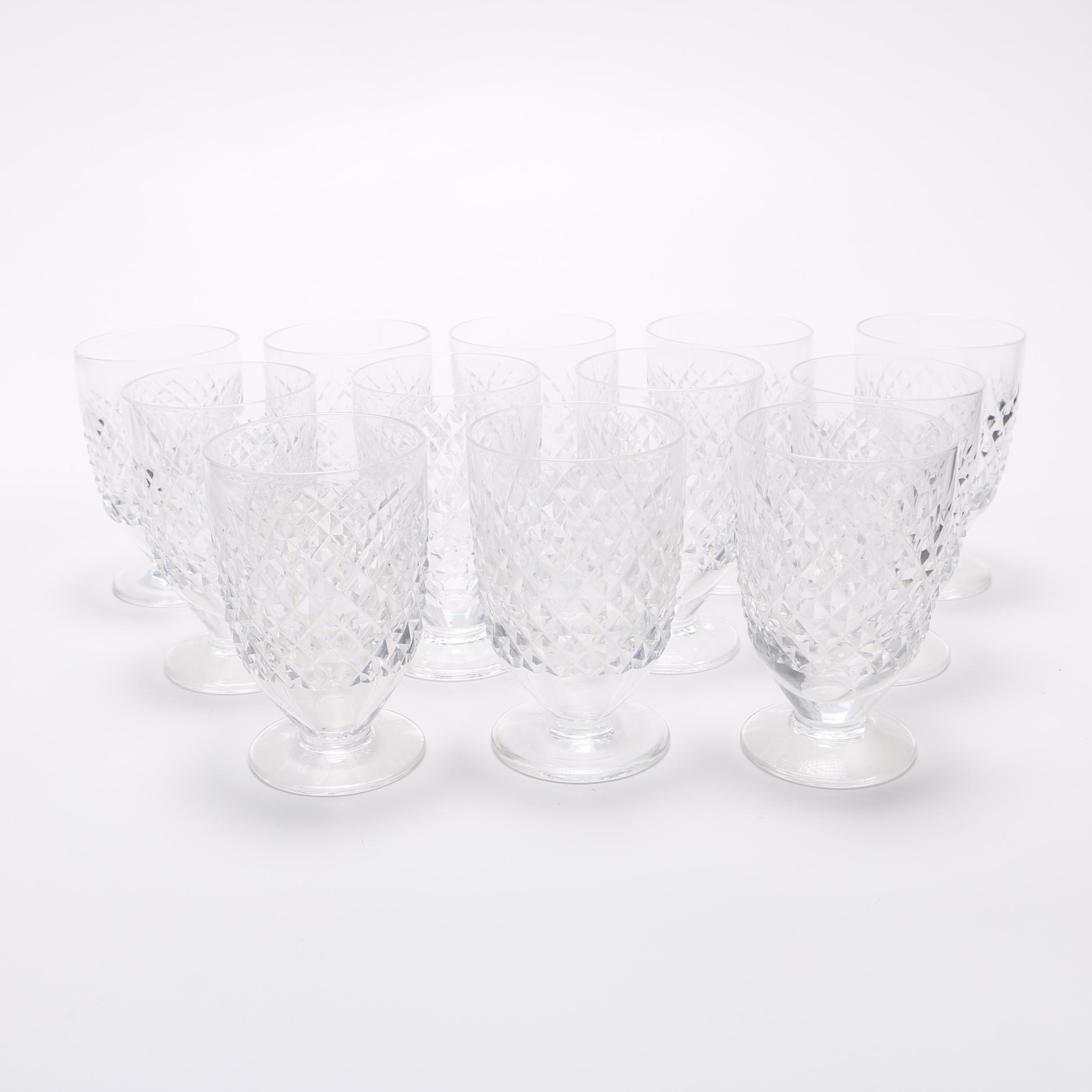 "Waterford ""Alana"" Crystal Juice Glasses"