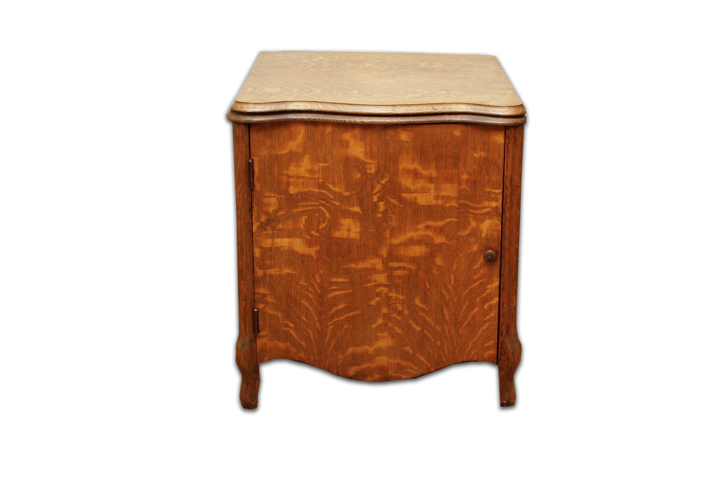 Early 20th Century Oak Sewing Cabinet