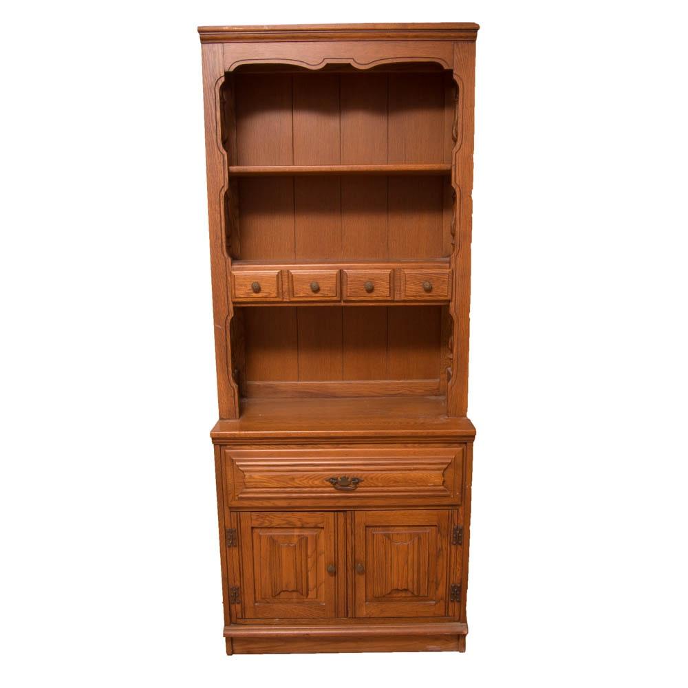 "Vintage ""Charter Oak"" Stepback Cabinet by Young-Hinkle"