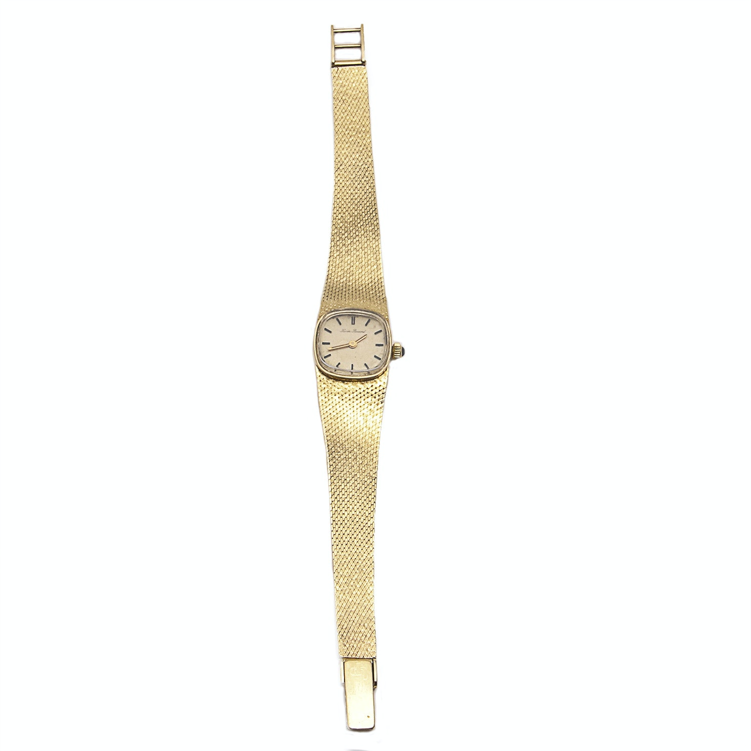 Lucien Piccard 14K Gold Wristwatch