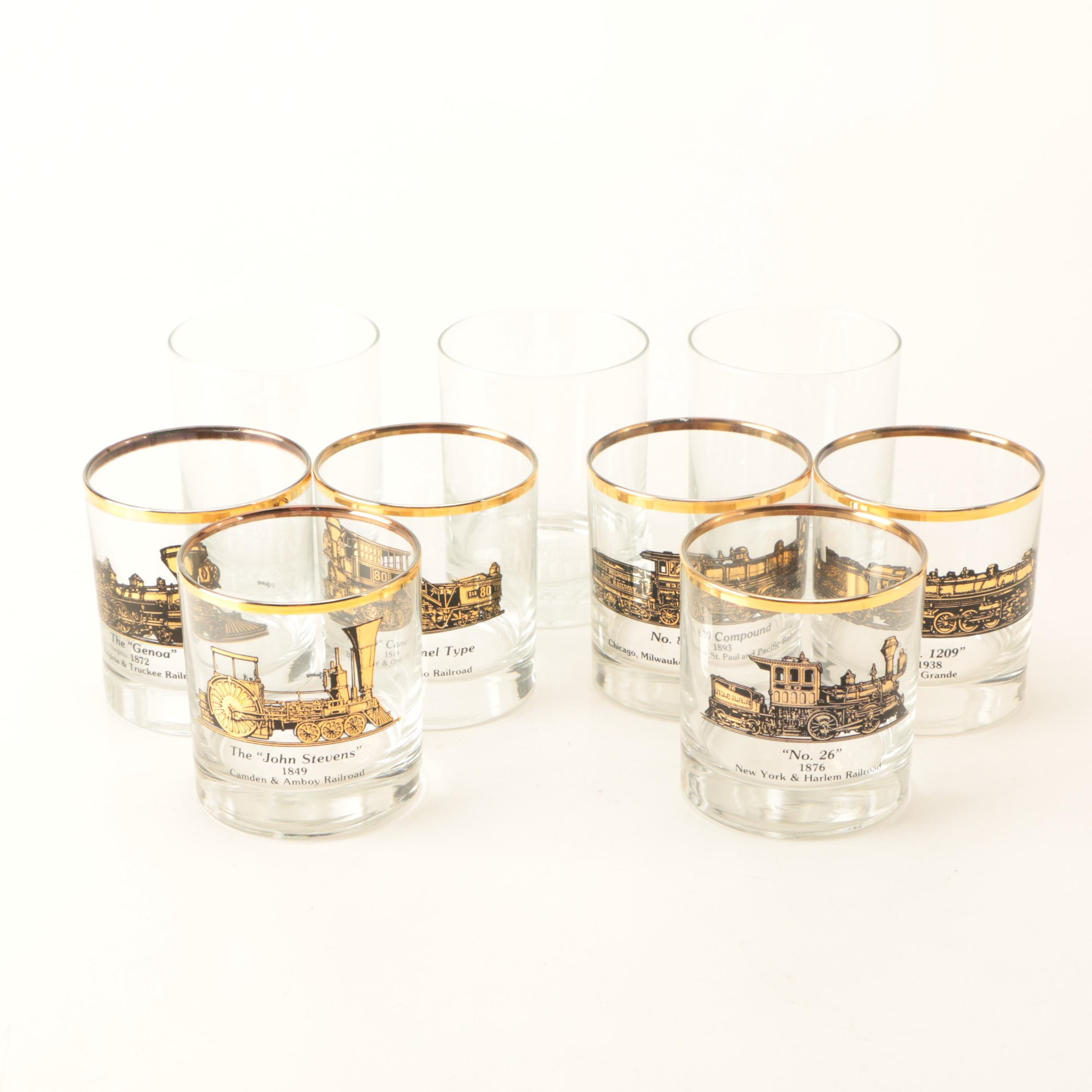 Union Pacific Drinking Glasses