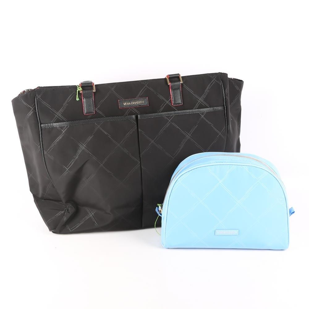 Vera Bradley Tote and Cosmetic Bag
