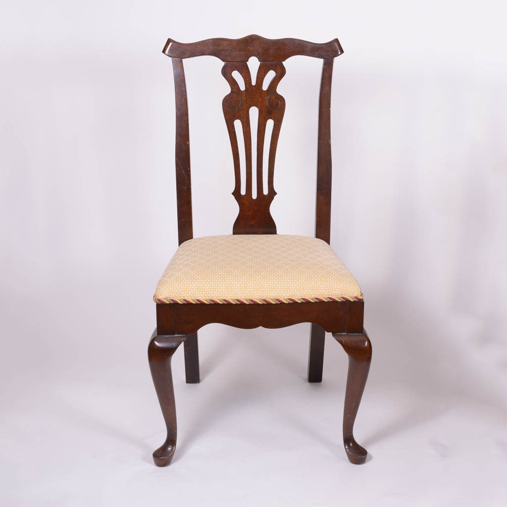 Set Of Chippendale Style Dining Chairs By Pennsylvania