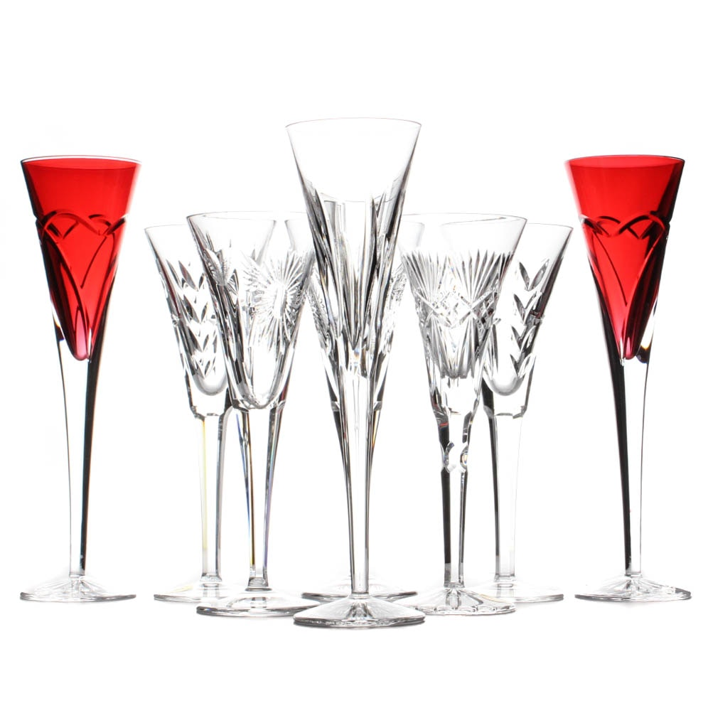 Waterford Crystal Flute Assortment