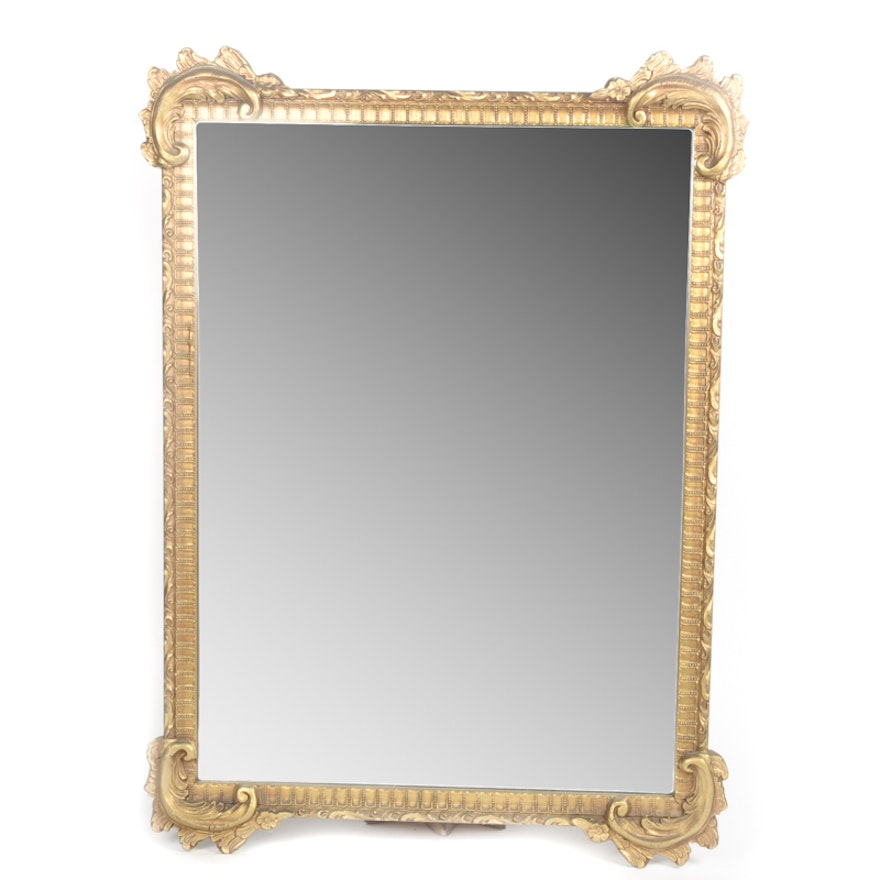 Vintage Wall Mirror with Ornate Gilded Frame : EBTH