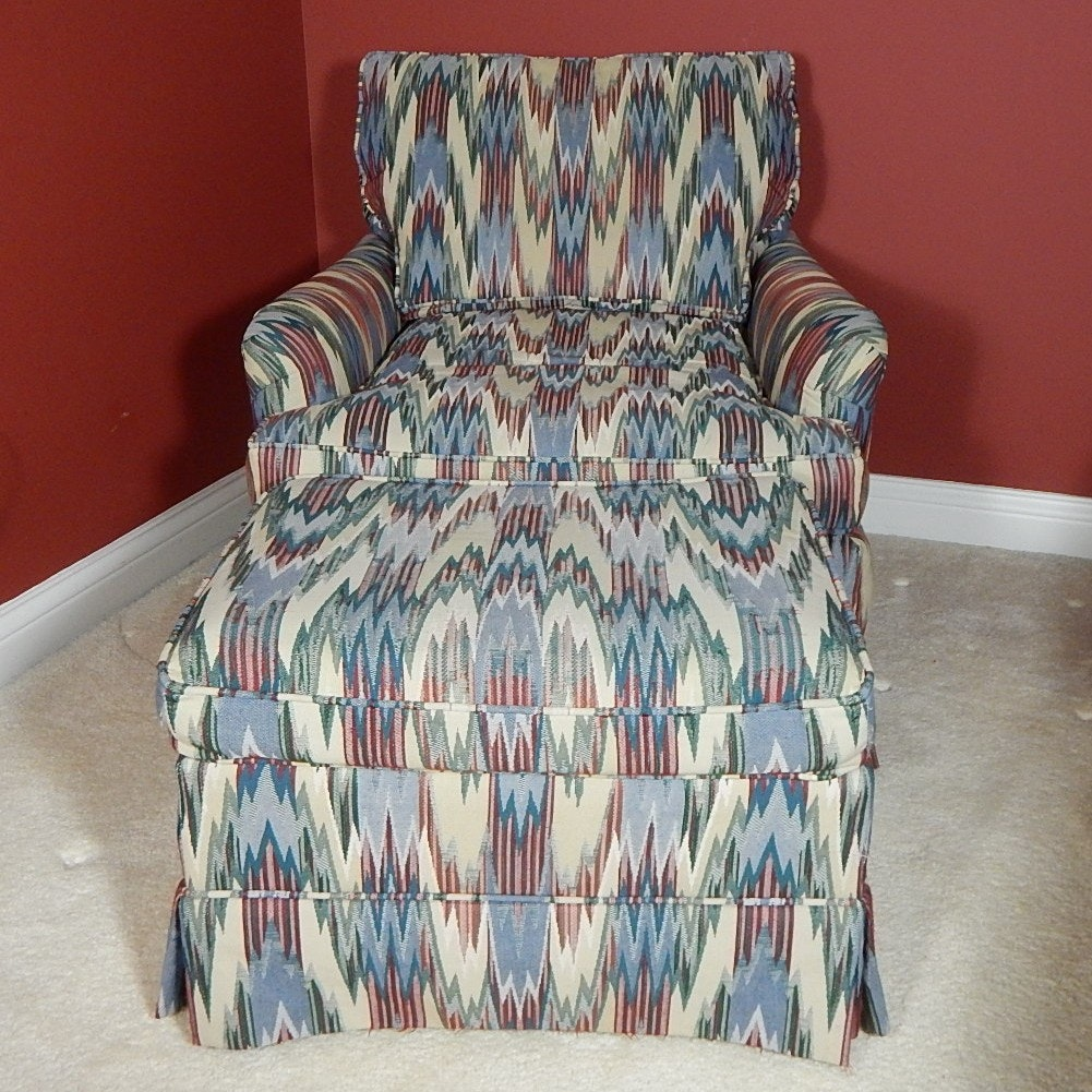 Beachley Furniture Chair and Ottoman