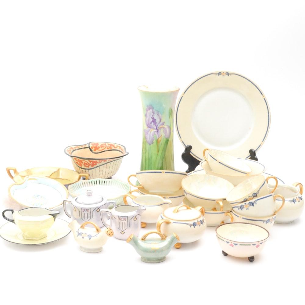 Hand Painted German Porcelain Dinnerware ...  sc 1 st  EBTH.com & Hand Painted German Porcelain Dinnerware : EBTH