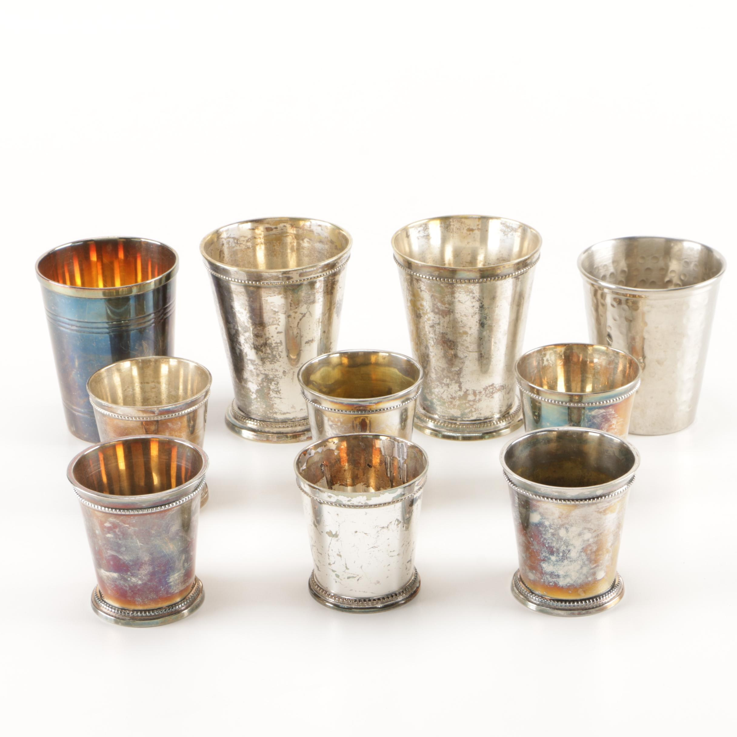 Silver Plate Julep Cup Collection