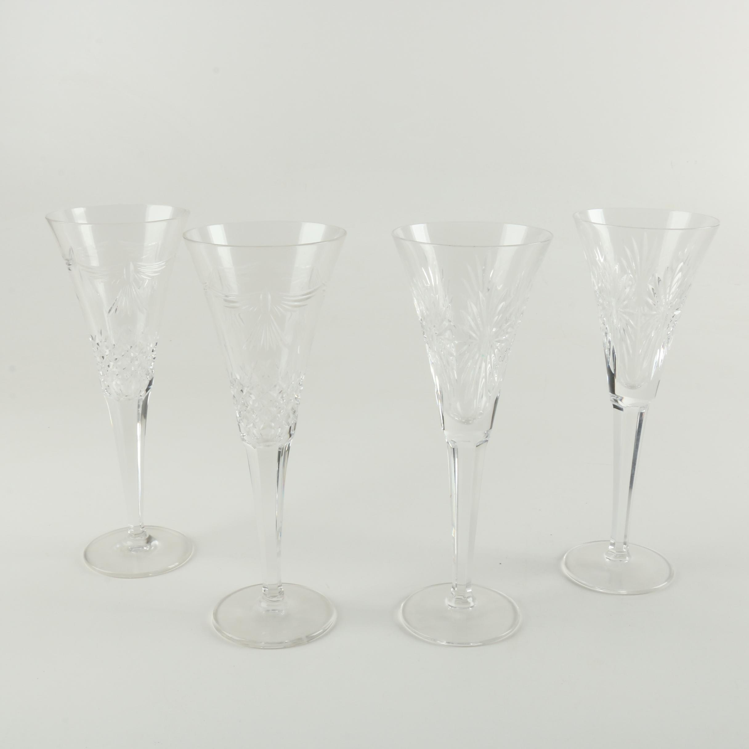 Waterford Crystal Millennium Champagne Flutes