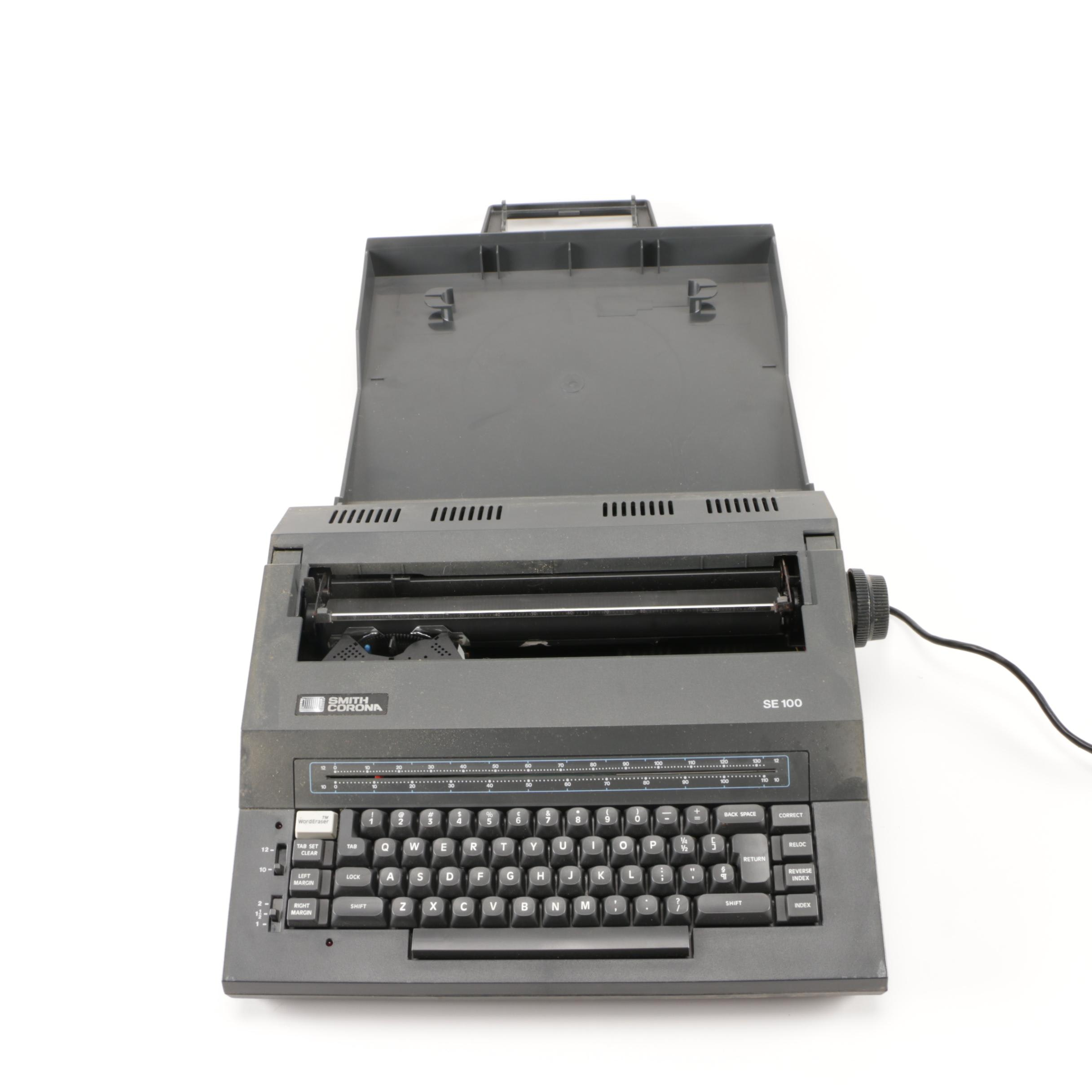 SE100 Electric Typewriter by Smith Corona