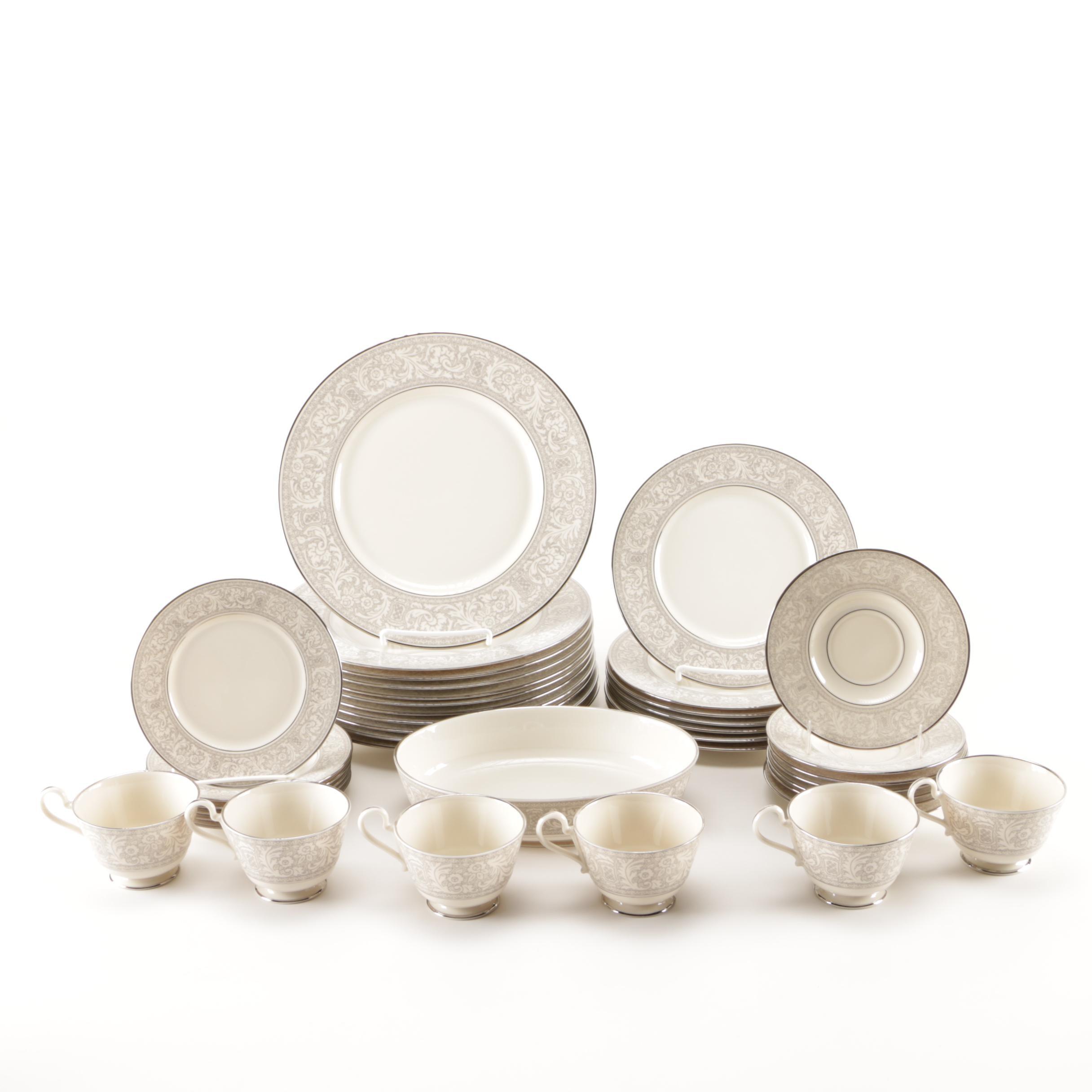 "Franciscan ""Renaissance Platinum"" Tableware"