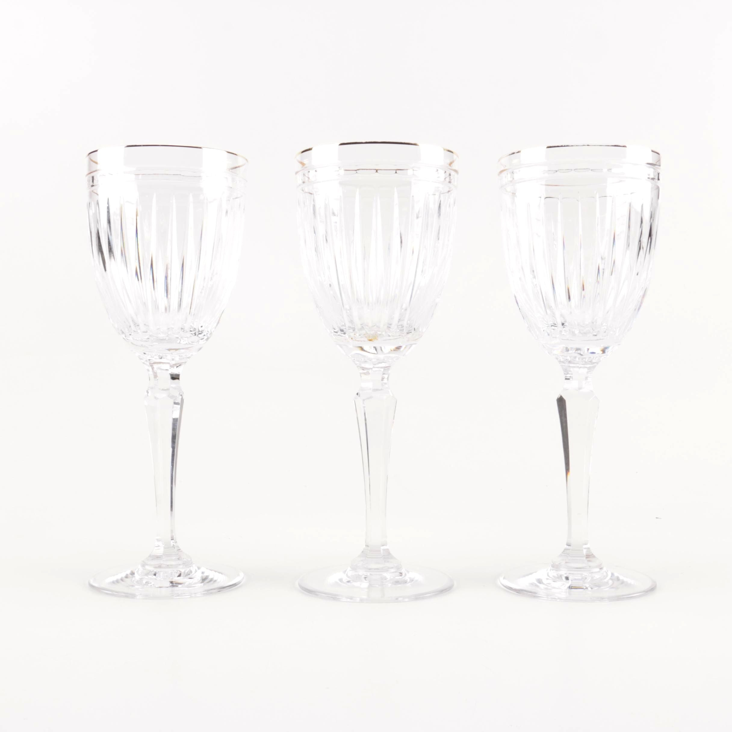 Marquis by Waterford Cut Crystal Wine Glasses