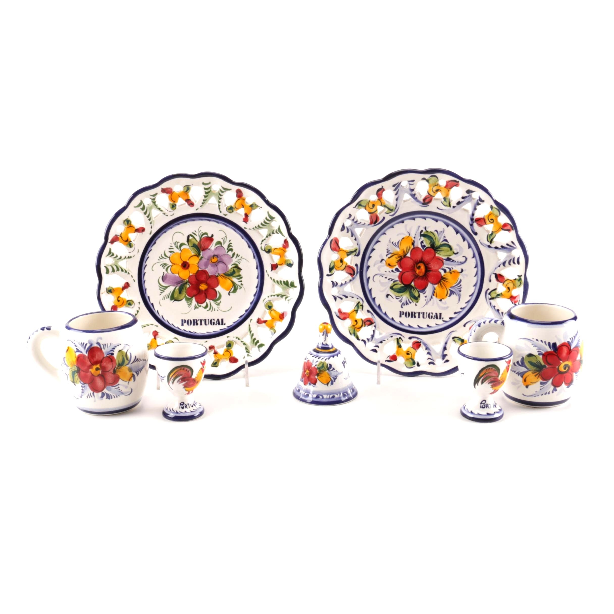 Pascoal Portuguese Hand-Painted Pottery