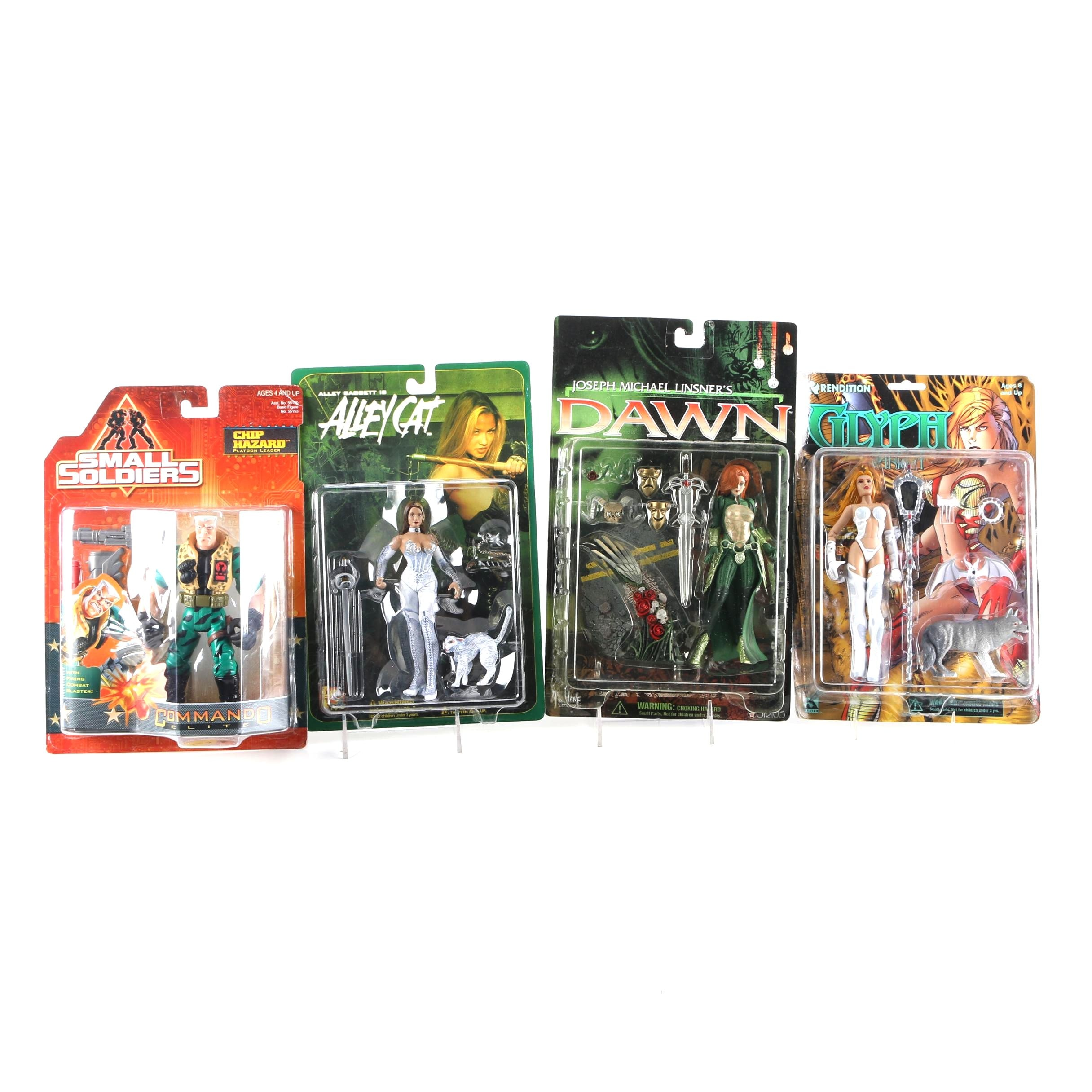 Sealed-on-Card Action Figure Toys