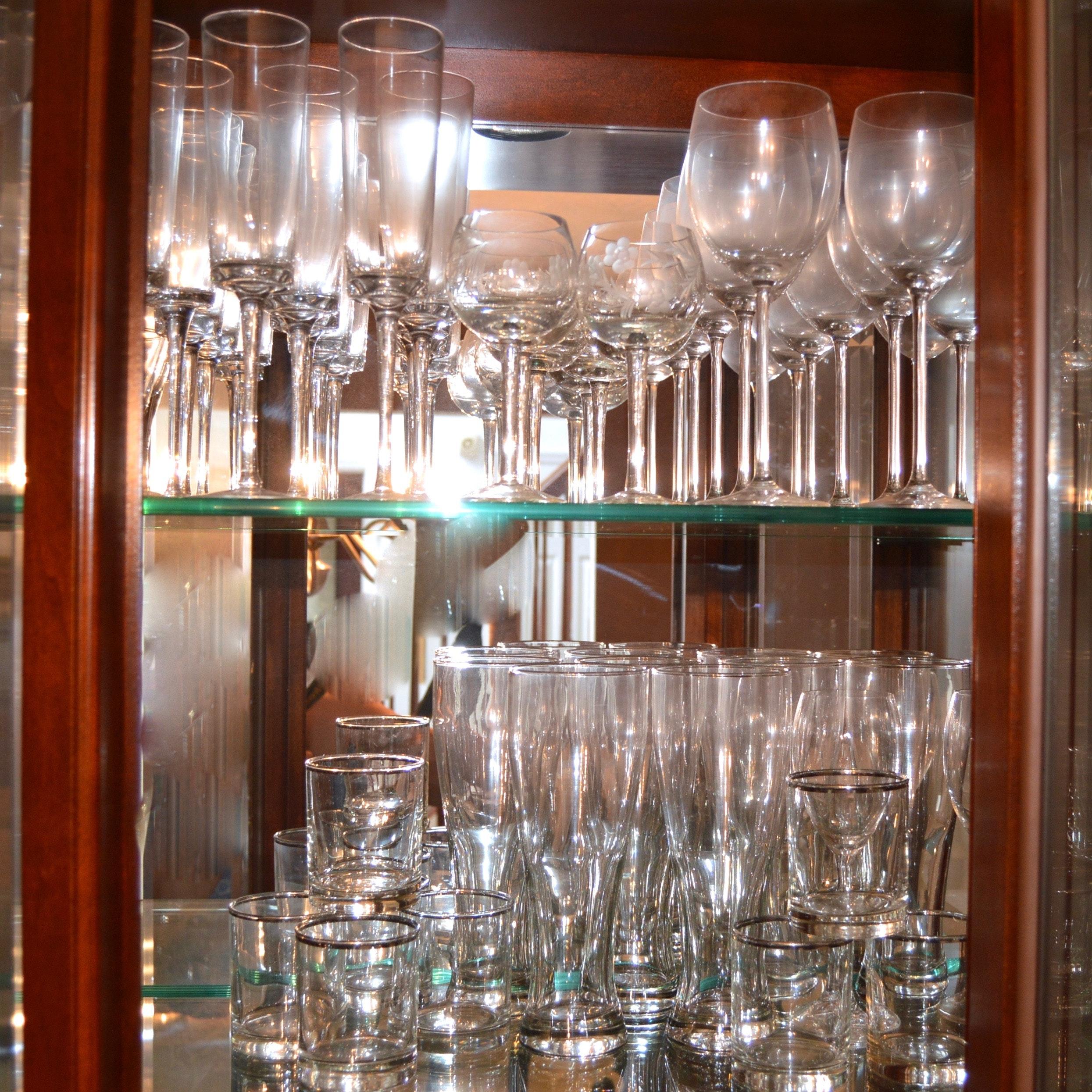 Stemware and Barware Glasses