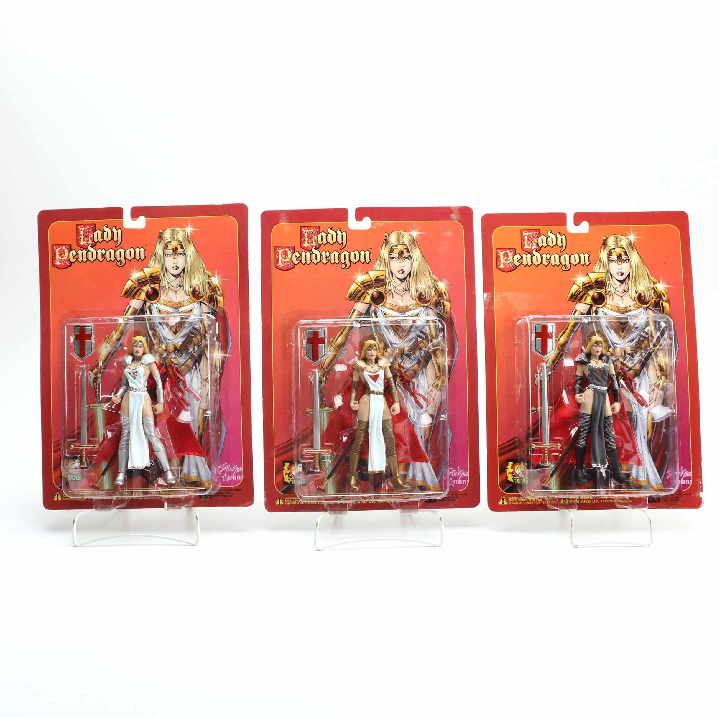 Lady Pendragon Action Figures