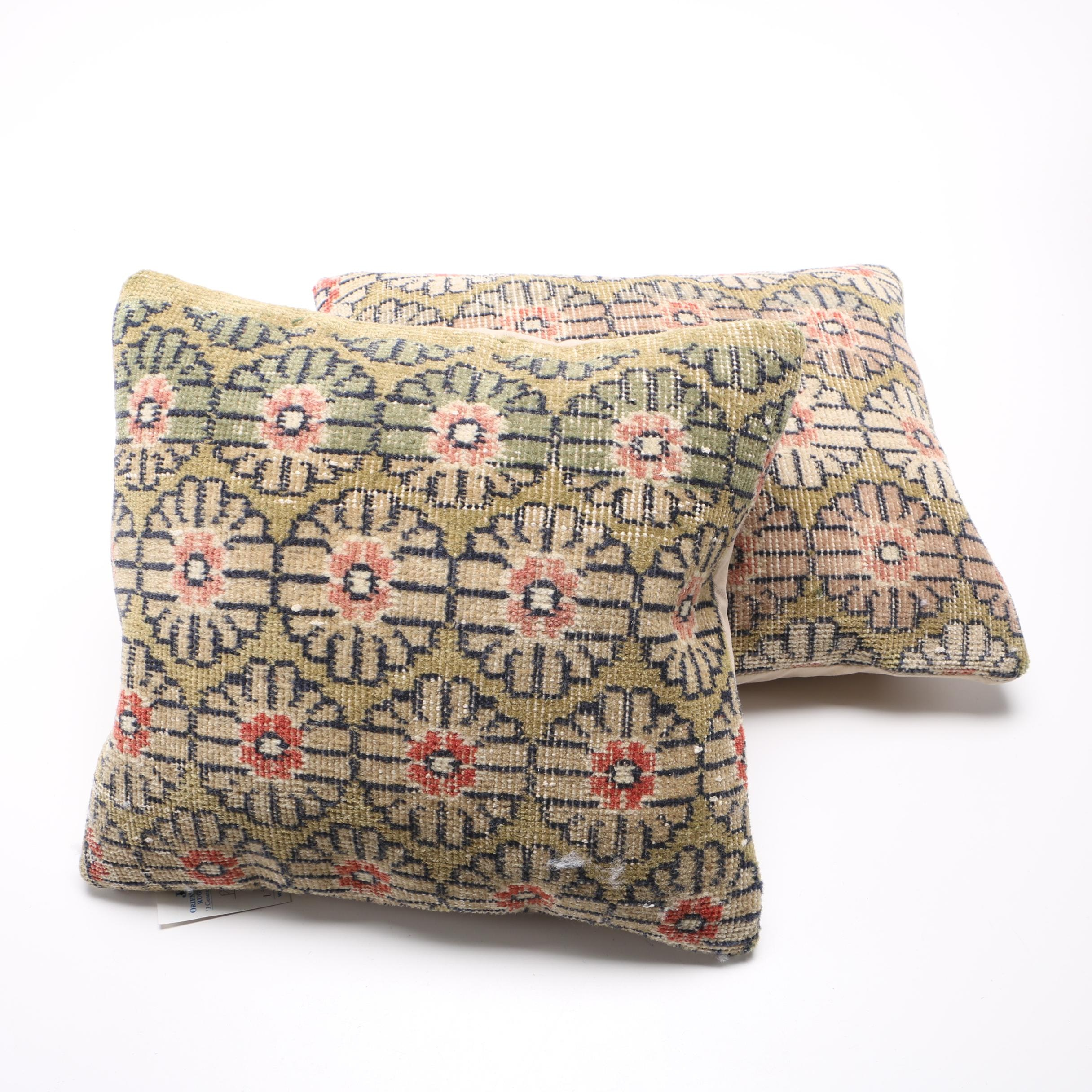 Turkish Handwoven Rug Pillows