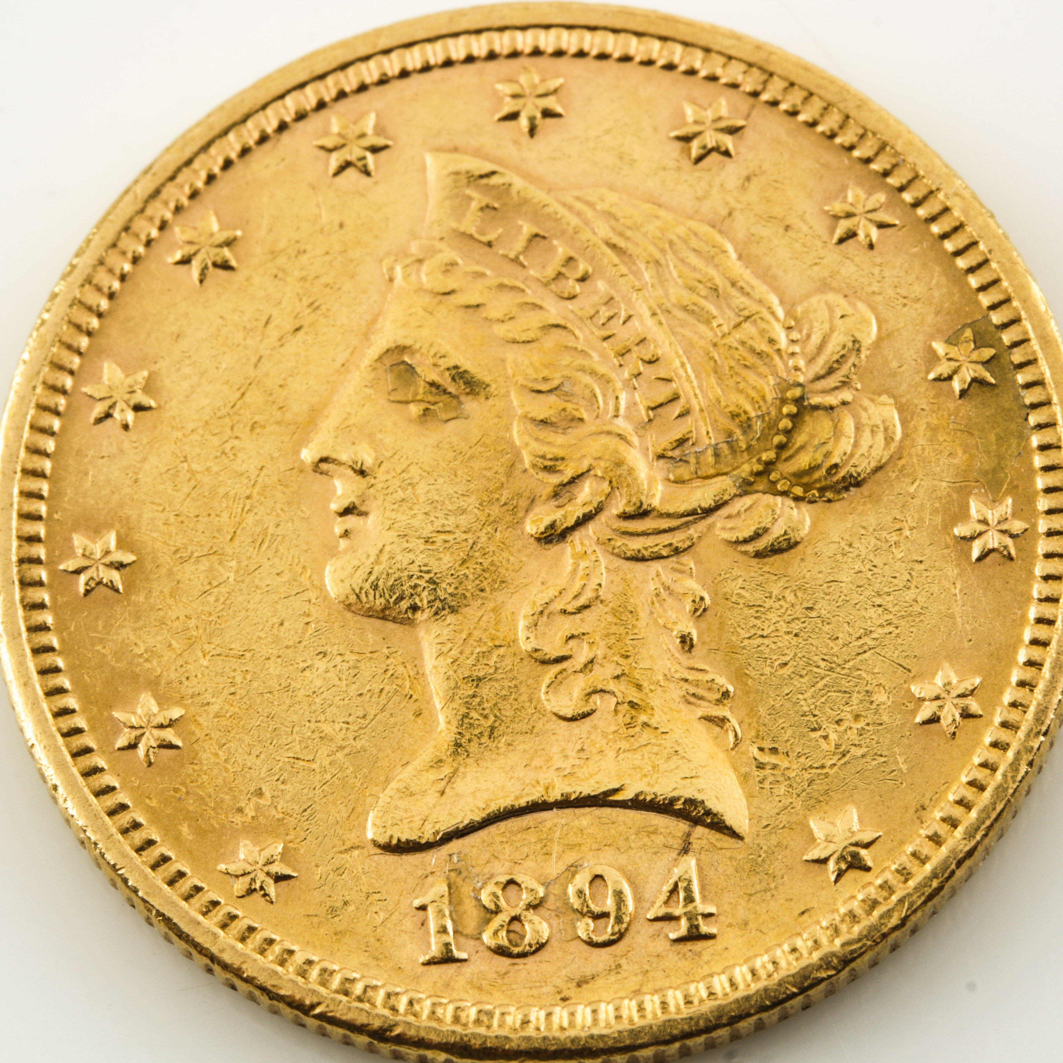 1894 Liberty Head $10 Gold Coin