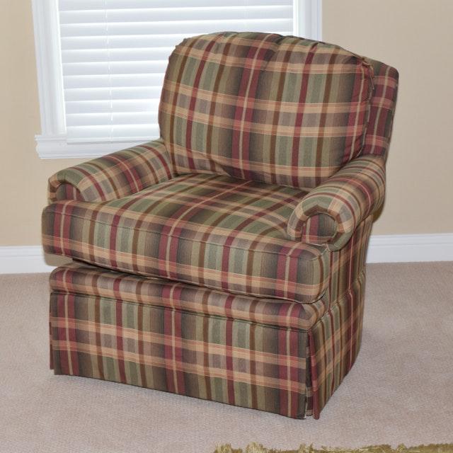 Huntington House Swiveling Upholstered Armchair