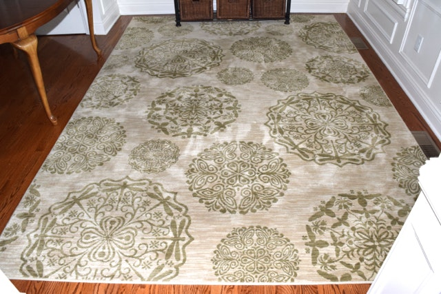 Modern Machine Woven Shaw Living Area Rug