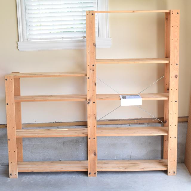 Ikea Gorm Pine Shelving Unit