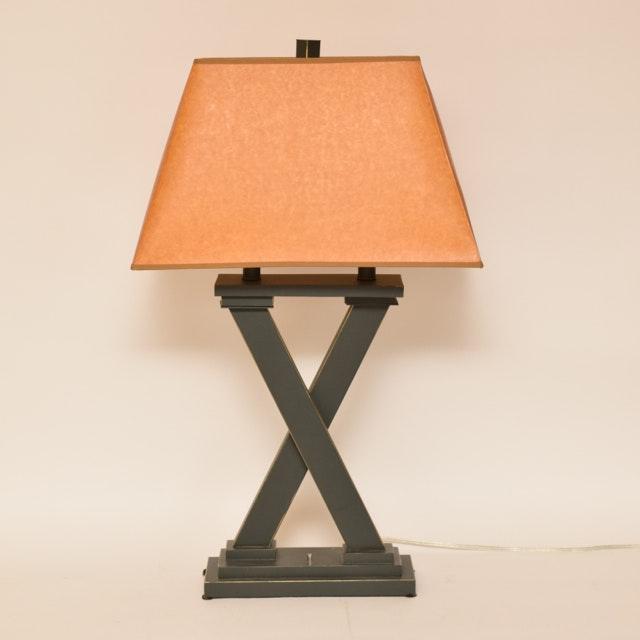 Metalwork X Table Lamp