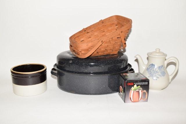 Kitchenalia and Longaberger Baskets