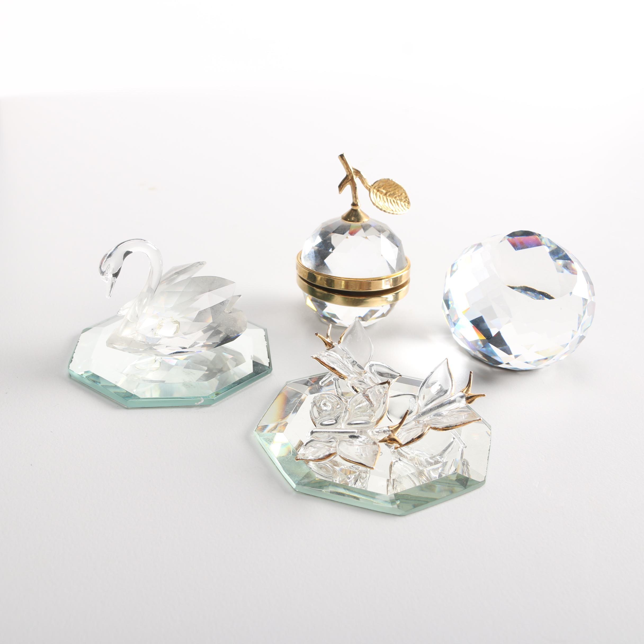 Crystal Figurines Featuring Swarovski