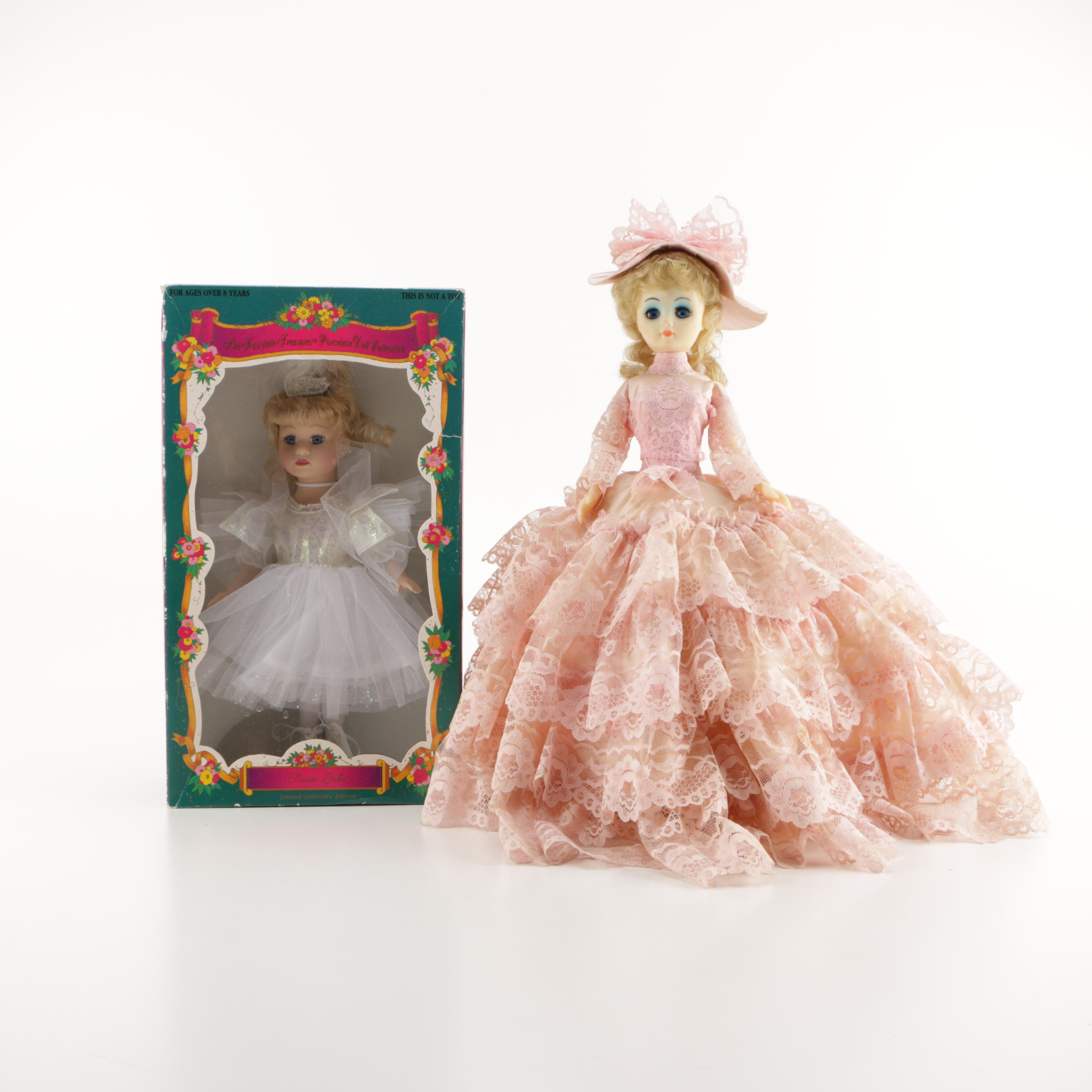"Porcelain Dolls including Limited Collectors Edition ""Swan Lake"""