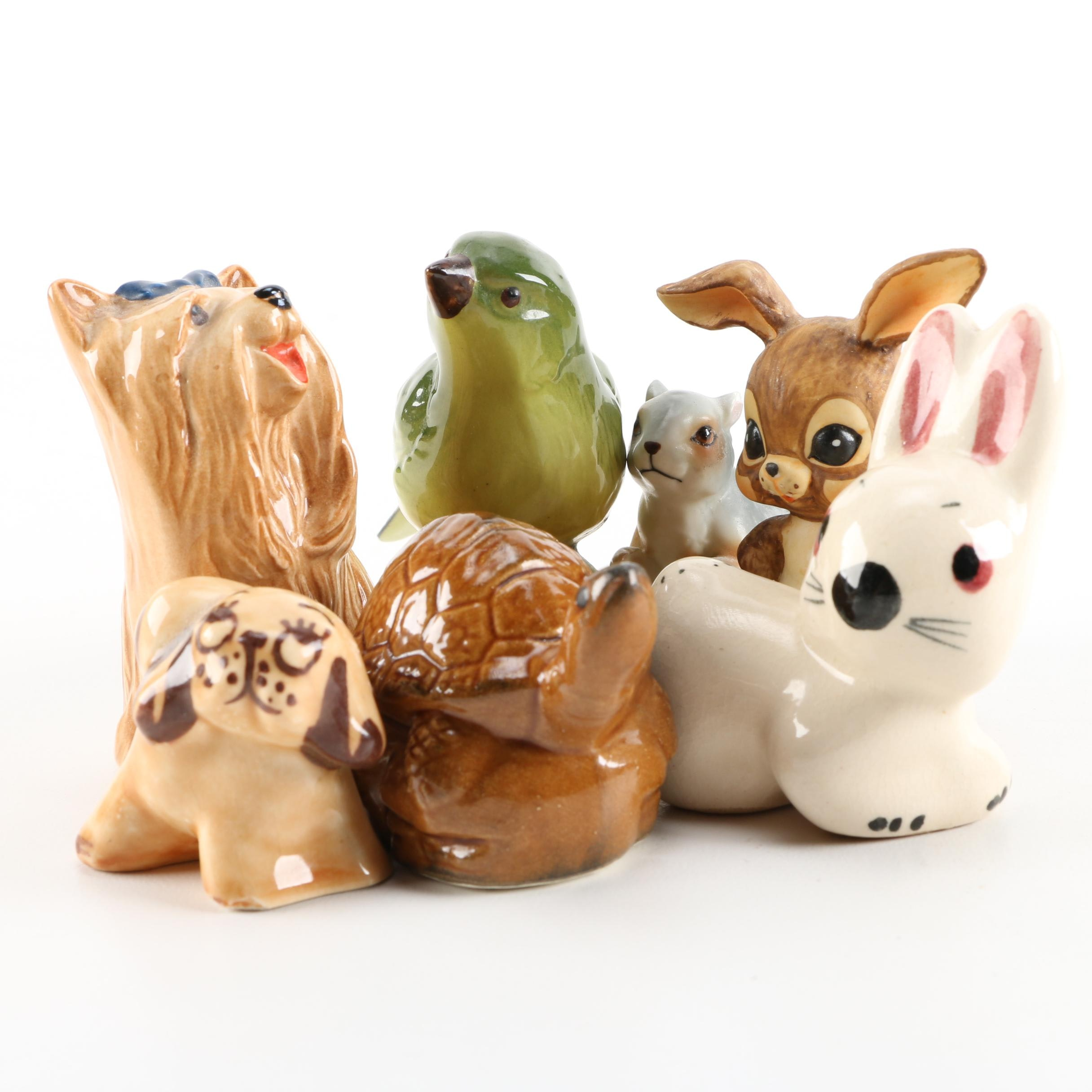 Collection of Ceramic Animal Figurines featuring Beswick