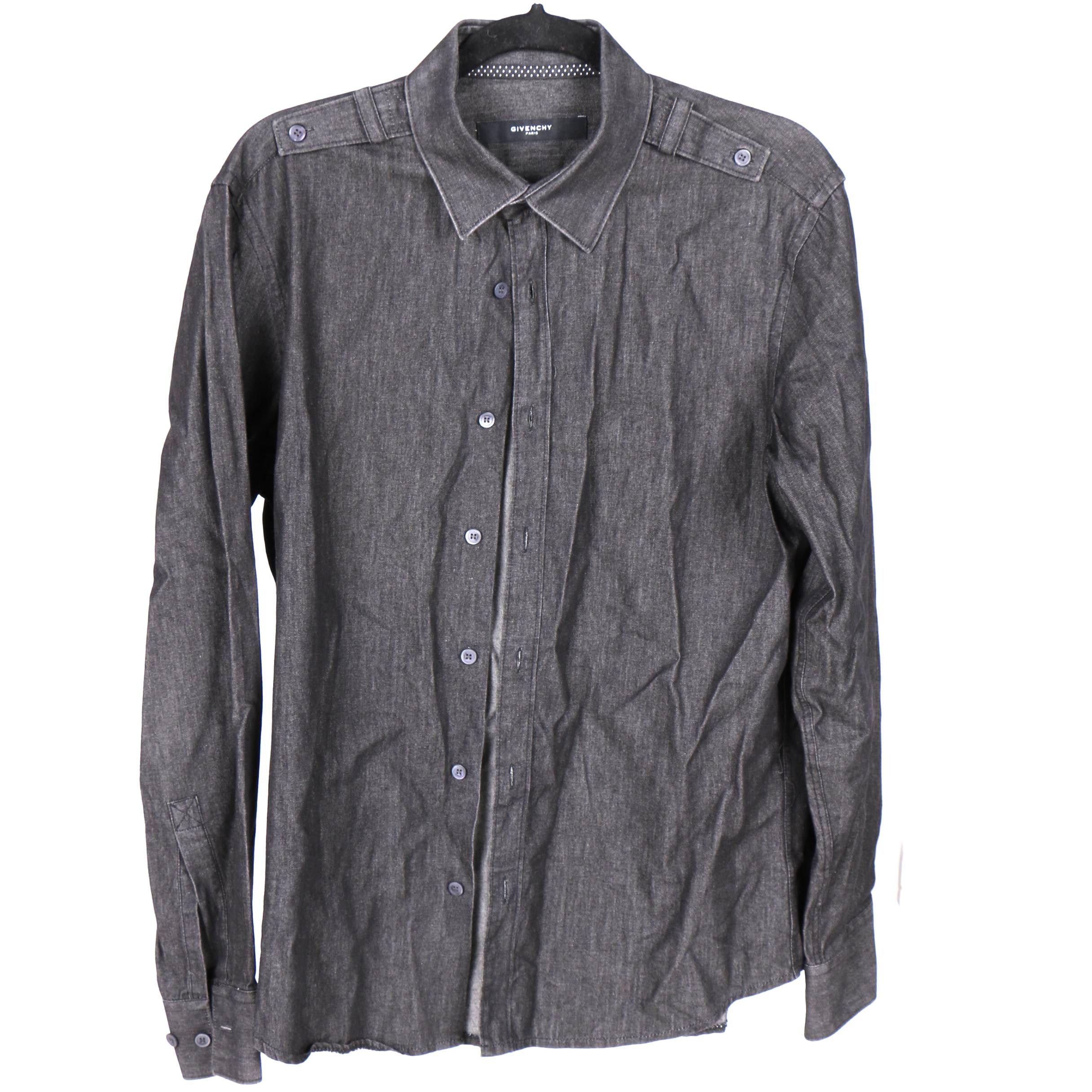 Givenchy Paris  Button Up Shirt